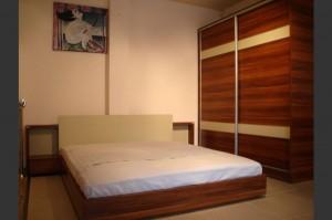 Гардероб и спалня по проект