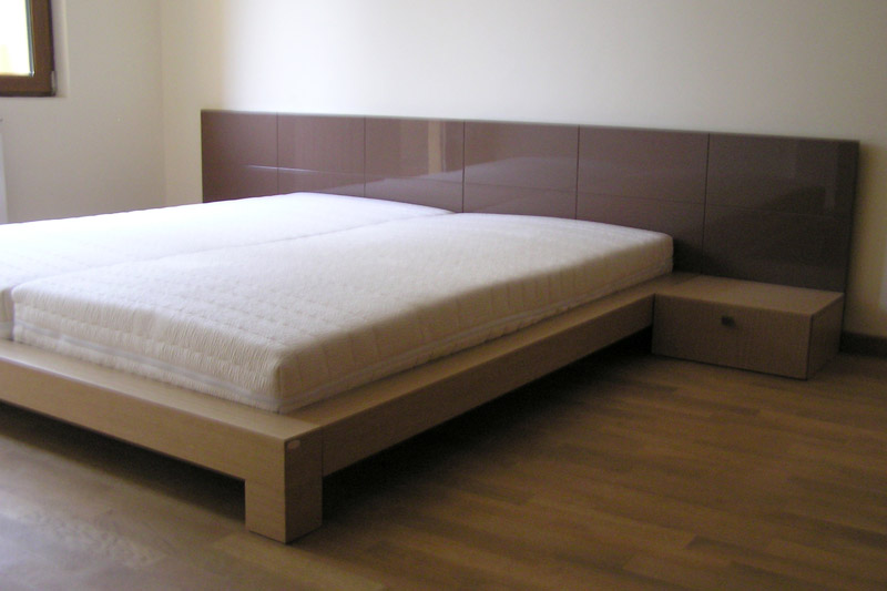 Спалня от МДФ с цмят и гланц