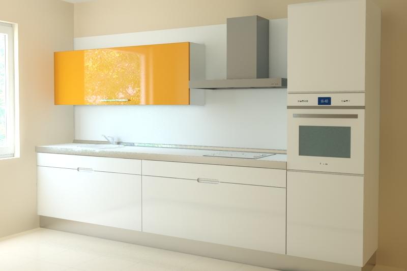 3D проект на мебели за кухня