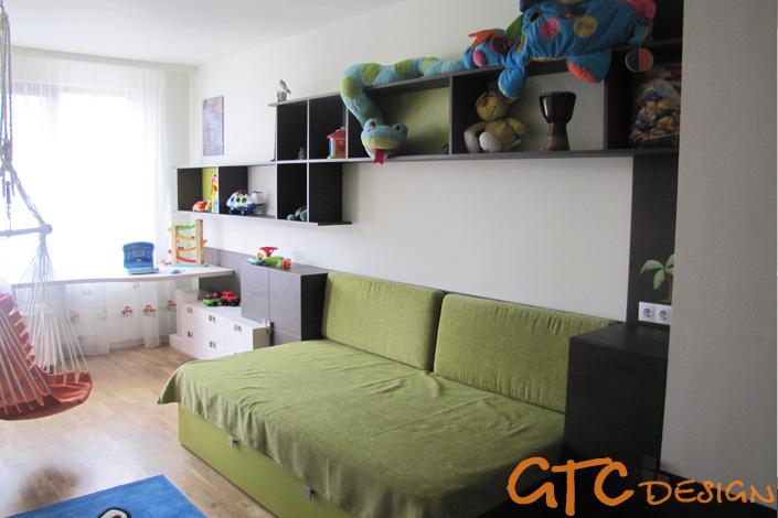 Легло и секция за юношеска стая