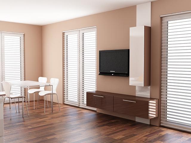 Проект за мебели по поръчка за обща