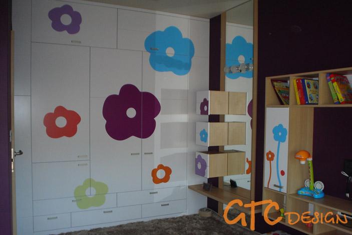 Обзавеждане за детска стая с декори си принт