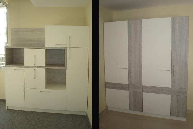 Секция и гардероб за офис