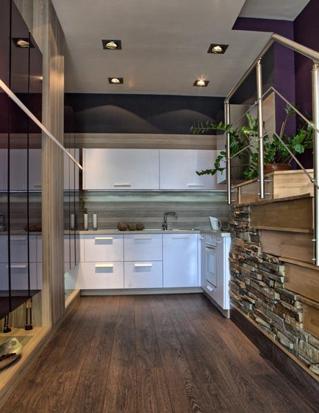 Малка кухня по поръчка - идея за ниша