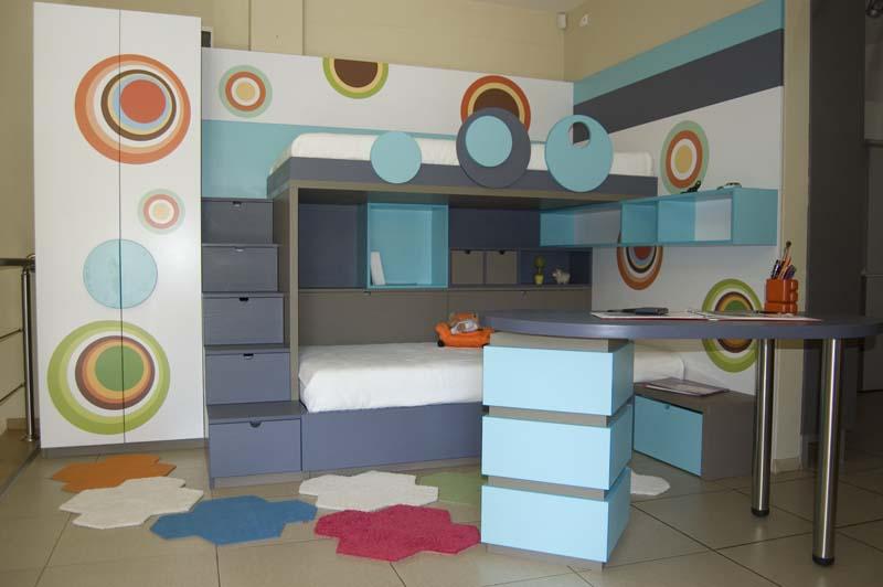 Обзавеждане за детска стая с две легла по поръчка