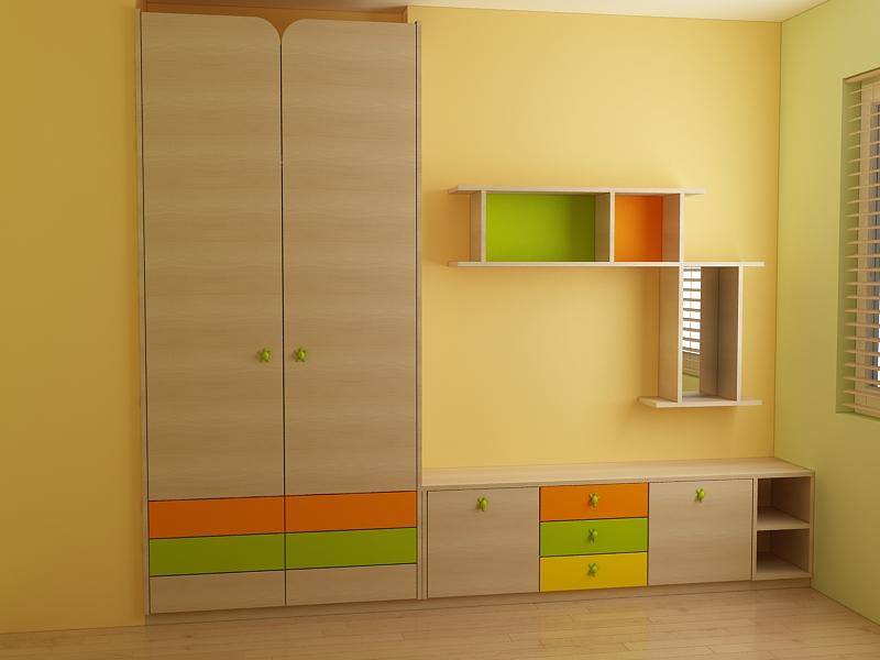 Мебели за детска стая за едно и две деца