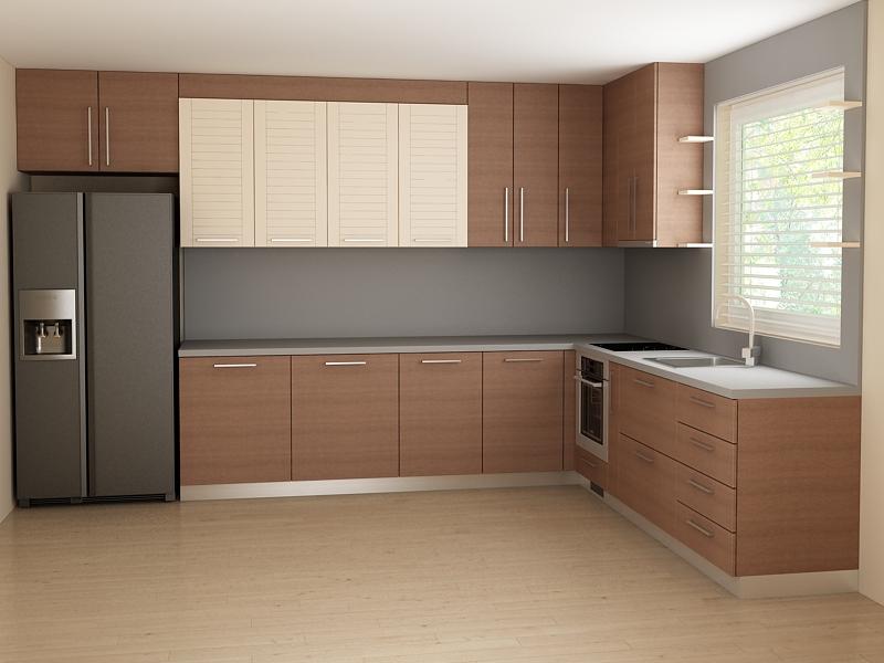 Проект за кухненски шкафове от ПДЧ