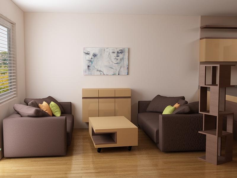 комплект двойка дивани с тапицерие и ниска маса