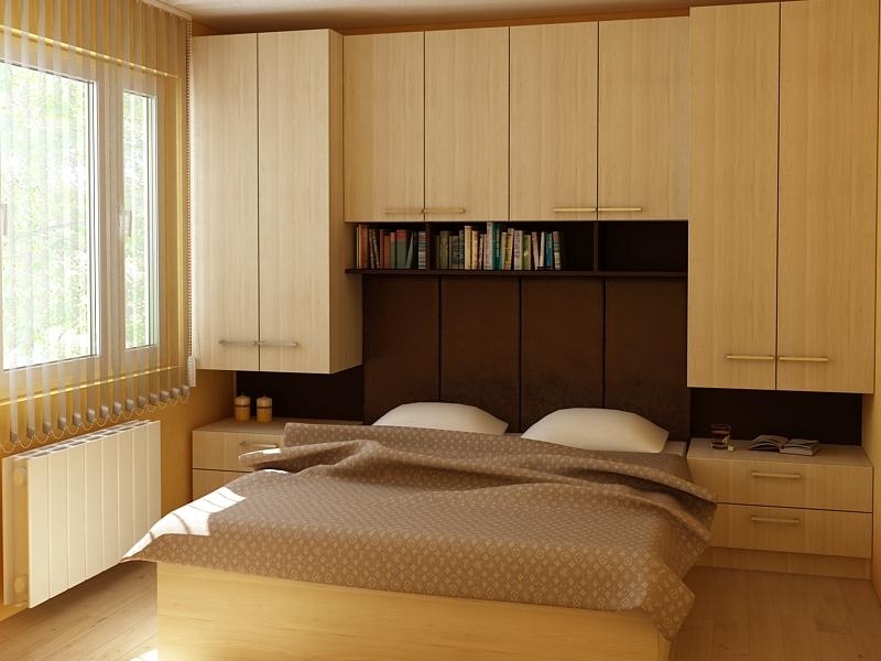 Проект на цялостно обзавеждане за спалня