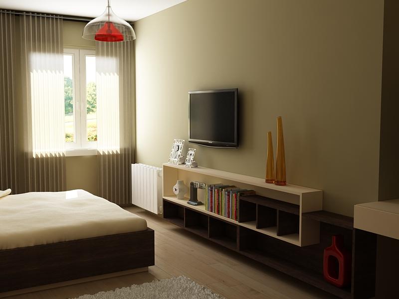 Спалня, секция по индивидуален порект