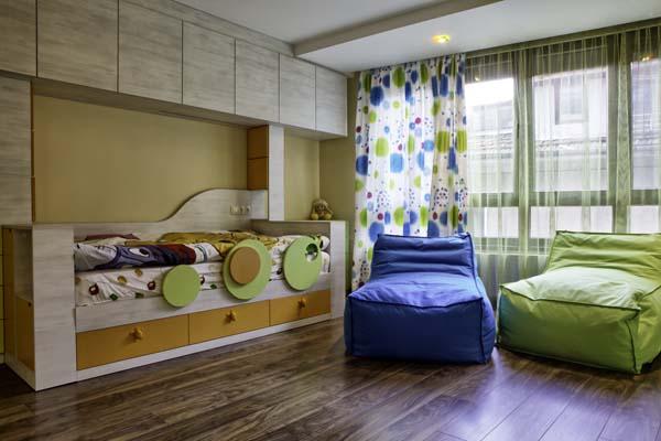 мебели за детска стая с две легла
